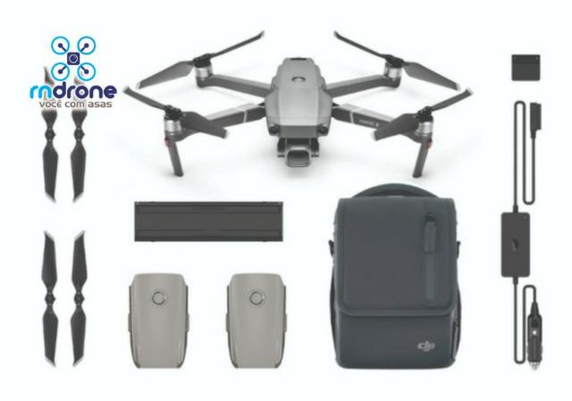 Drone Mavic 2 Pro Combo ( Com selos da Anatel )