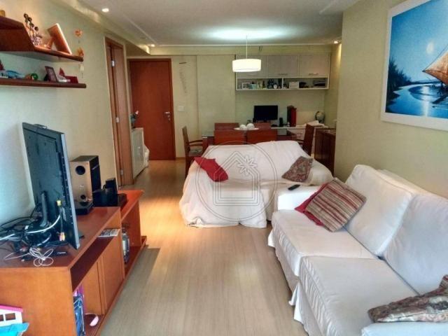 Apartamento com 3 dormitórios à venda, 94 m² por r$ 695.000,00 - grajaú - rio de janeiro/r