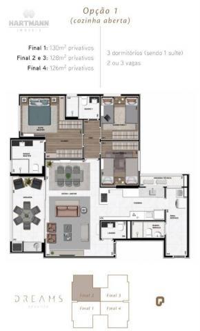 Apartamento Garden com 3 dormitórios à venda por R$ 1.099.998,96 - Ecoville - Curitiba/PR - Foto 2
