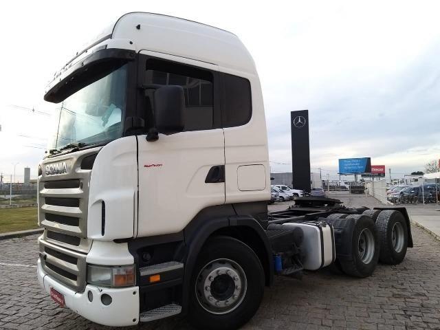 Scania Higlaine R420 6x4 S/reduçao - Selectrucks