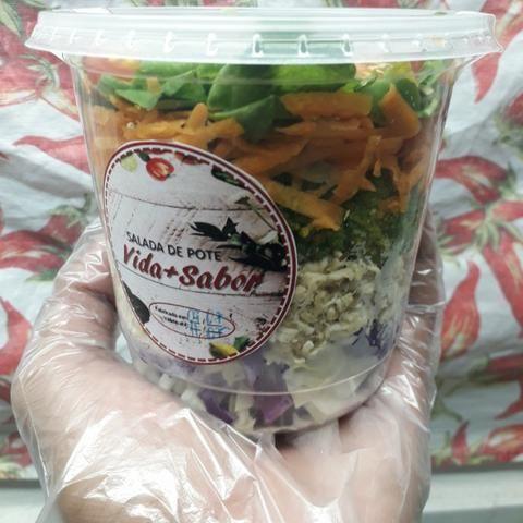Vida+Sabor Salada de Pote - Foto 3