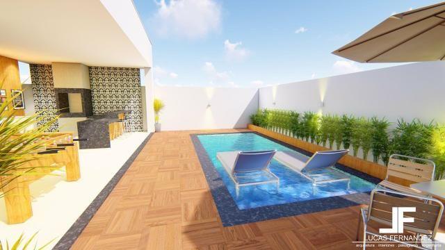 Casa 4quartos suite piscina churrasqueira rua 12 condomínio frente taguapark - Foto 5