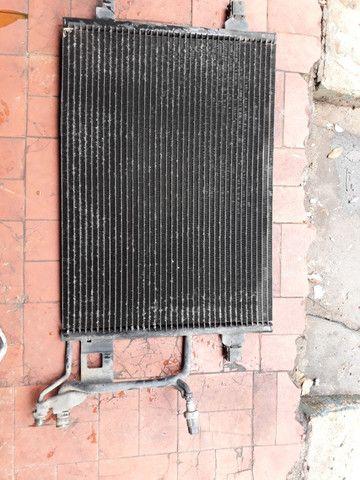 Radiador condensadora do ar passat alemao audi a4 golf - Foto 2