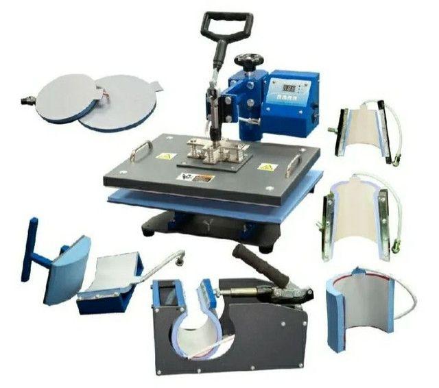 ?Vendo prensa térmica  para sublimação 8x1 220v + impressora