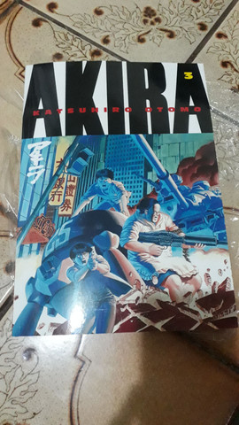 Mangá AKIRA vol 3 - inglês