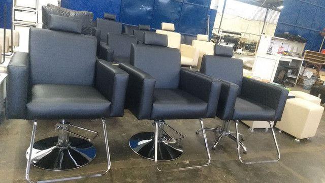Cadeira hidráulica @ lavatório @ maca @ poltrona @ Mocho @ manicure e mais - Foto 6