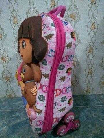 Mochila 3D Maxtoy, Dora Aventureira - Foto 4