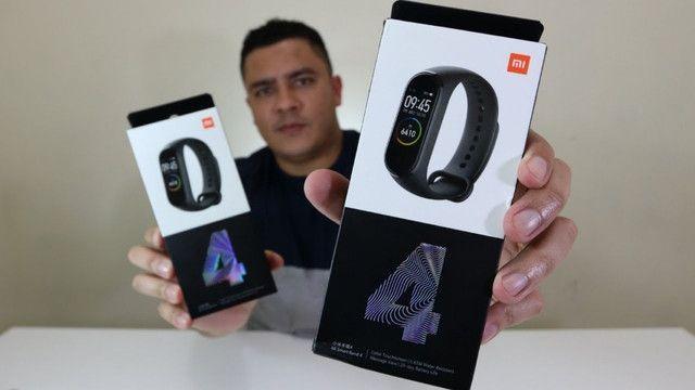 Smartwatch Xiaomi Mi Band 4 Relógio Inteligente Versão Globa - Foto 4