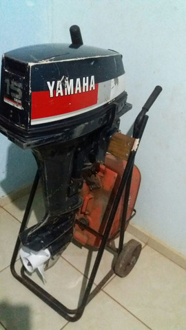 Motor de polpa 15 HP yamara - Foto 3