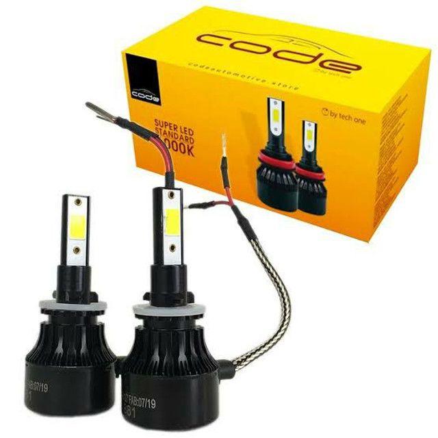 Lâmpada H27 Code TechOne 12.000 Lumis Onix Prisma Cobalt Spin