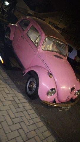 Vendo Fusca rosa  - Foto 4