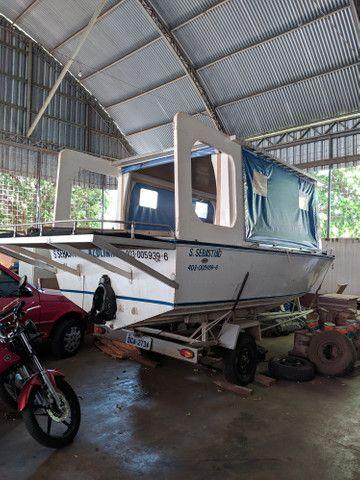 Barco com carretinha - Foto 4