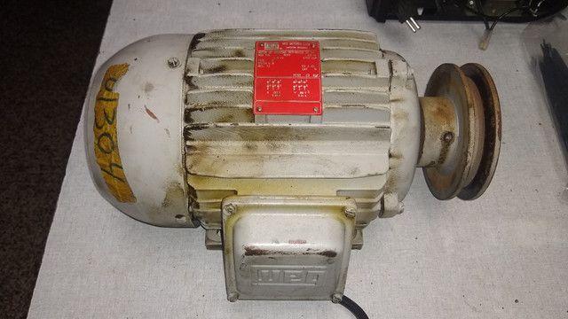 Motor Trifásico 3cv 1710 rpm Weg