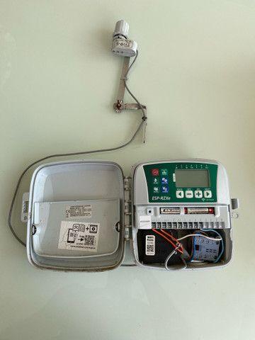 Controlador central irrigacao Rain Bird + sensor chuva - Foto 5