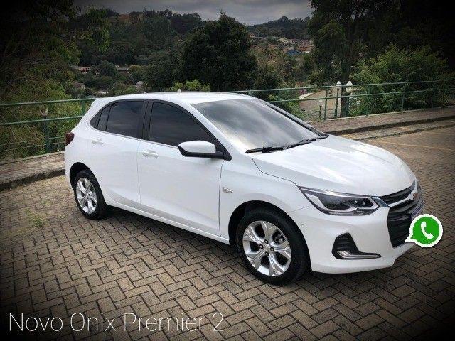 Novo Onix Hatch Premier Pacote 2 Turbo 2019/2020 Branco  - Foto 4