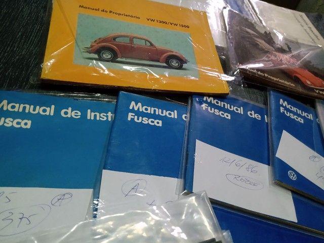 Manual Proprietário Volkswagen Todos Modelos e Versões Originais Fábrica - Foto 3