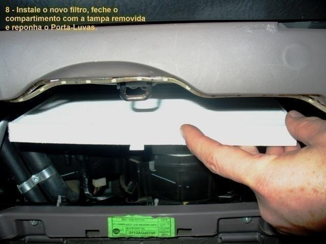 Filtro Cabine Ar-Condicionado Mahindra 2.2 e 2.6 Suv, Mov, Scorpio, PikUp, Cd, Simples