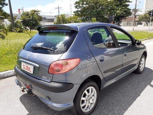Direto Sem Consulta na Global-Peugeot 206 Pres 1.4 -2005 Completo r$7.790 Leia o Anúncio - Foto 16