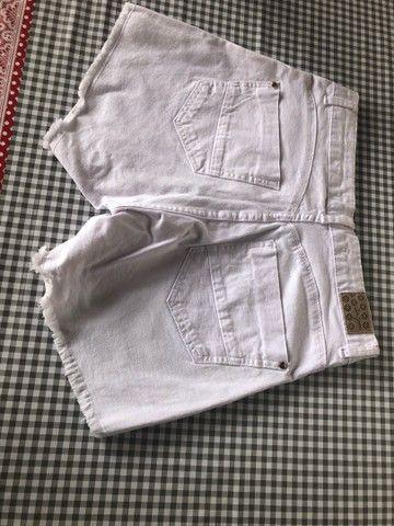Short Branco Número 40 - Foto 2