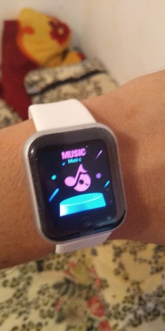 Novo Smart Watch Y68 Com Rastreador Fitness Para Ios / Android - Foto 2