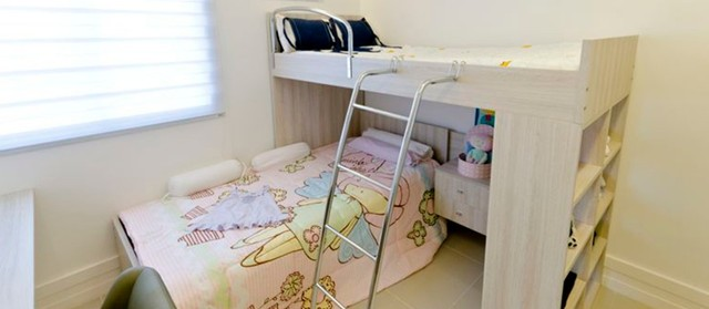 OZK- Imóvel para venda com sala para 2 ambientes- 2 quartos amplos - Foto 4