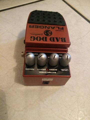 Pedal washburn flanger stereo bad dog - Foto 3