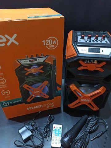 Caixa De Som 1 ano garantia OEX