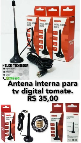 Antena interna para tv digital