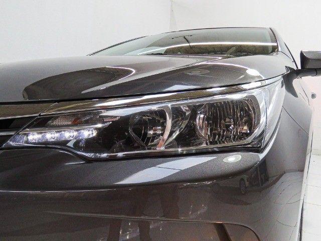 Toyota Corolla 1.8 GLI Upper Flex Automático 2018/2018 - Foto 7