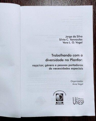 Livro Trabalhando Com A Diversidade No Planfor - Foto 3