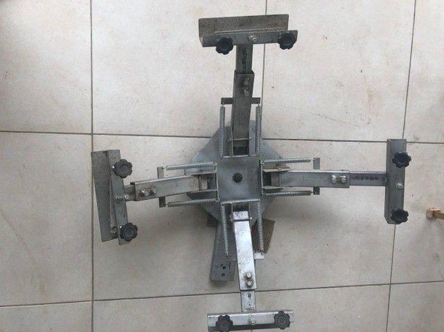 Impressora rotativa silk 4 garras com 1 berço.