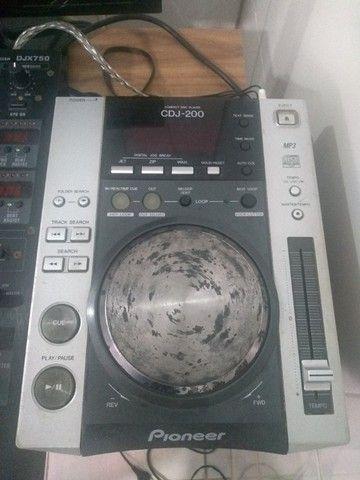 Cdj pionner 200 + mixer - Foto 4