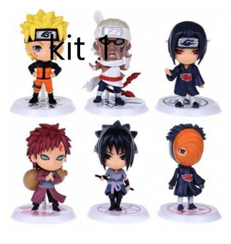 6 pçs/Conjunto Figuras de Ação Versão Q Naruto - Foto 4