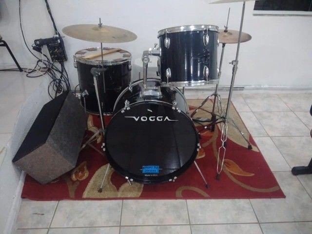 Bateria Acústica Vogga