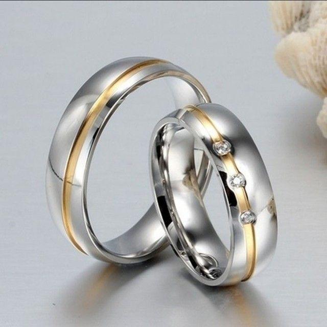 Alianças para Namoro/Noivado/Casamento - Foto 2