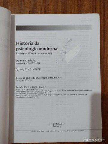 História da Psicologia Moderna - Duane P.Schultz E Sydney Ellen Schultz - Foto 2