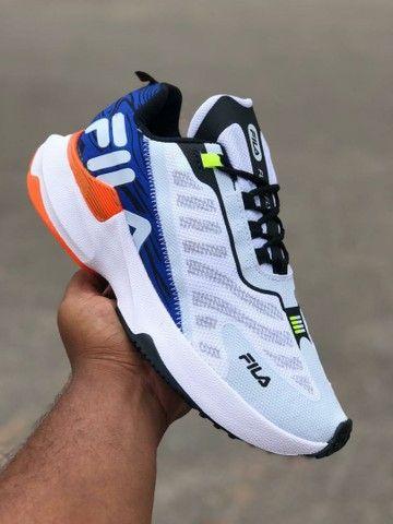 Vendo tênis fila e nike esportivo ( 120 com entrega)