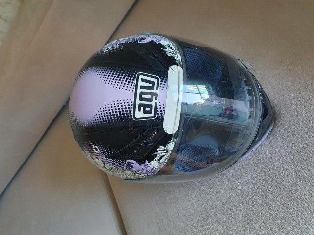 capacete agv feminino tamanho 54 - Foto 5