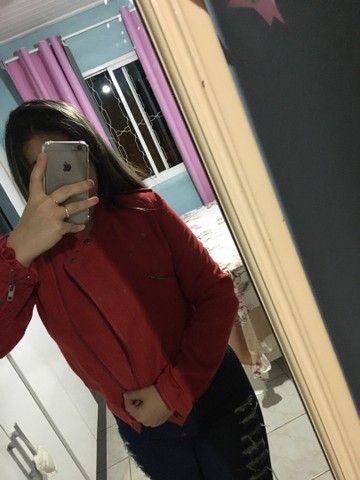 Jaqueta Importado Vermelha  - Foto 5