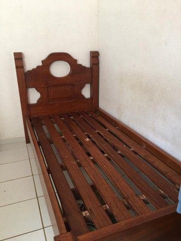 Cama madeira pura