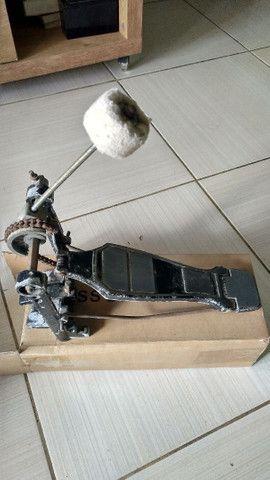 Máquina de ximbau e pedal de bateria - Foto 3