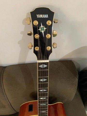 Violão Yamaha Jumbo CPX 1000 - Foto 5