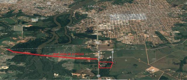 Ótimo terreno de 120.000m2 em Ji-Paraná-RO