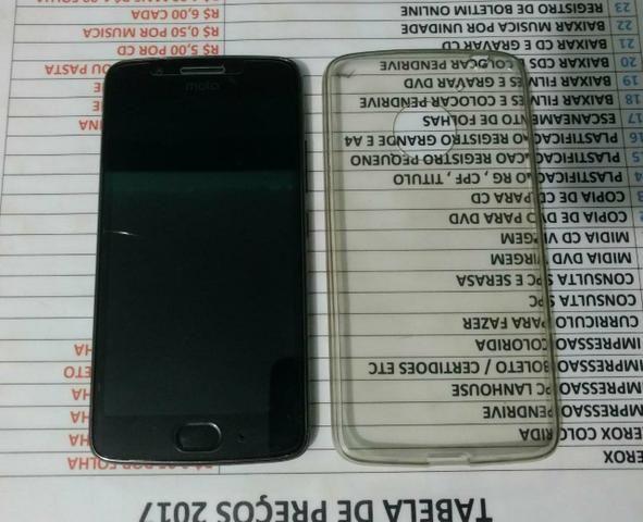 Moto G5 5 meses de uso, Completo, caixinha, e todos os acessorios. (Passo cartão)