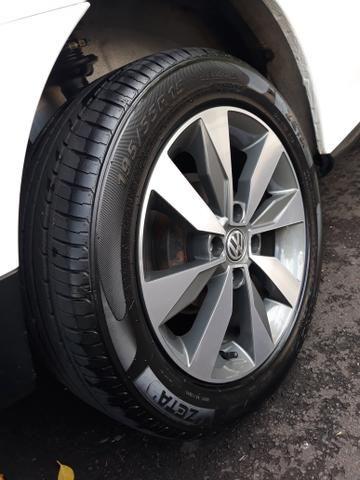 Jogo rodas Gol G7 aro 15 com pneus - Estado de zero - Muito top