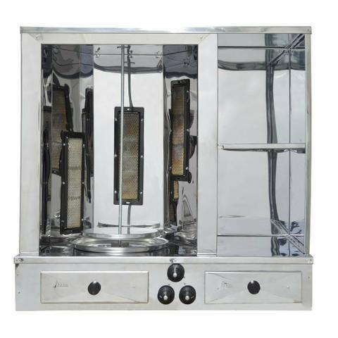 Máquina de churrasco grego COMPLETA