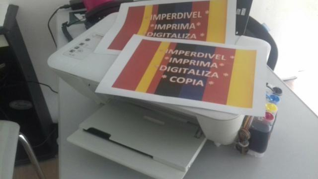 Impressora bulk ink multifuncional imstalamos