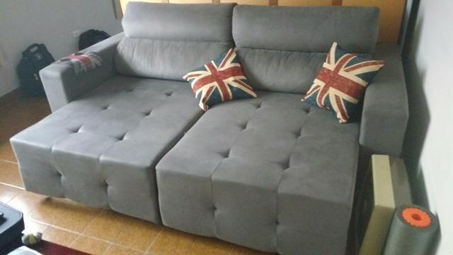 Sofa retrátil 2,3 x 1,6 mts Usado