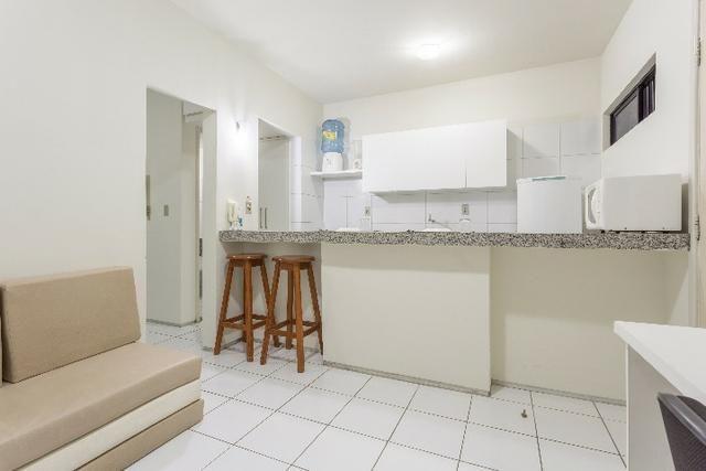 Flat 103, 4º pavimento Boa Viagem, completíssimo, Praia e Shopping Center