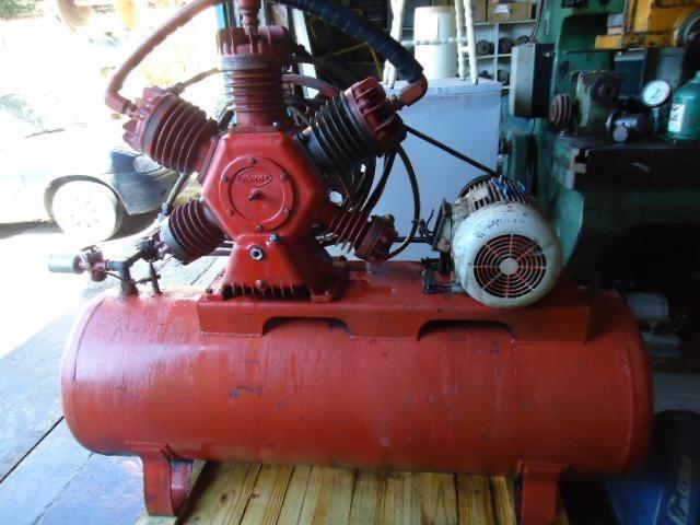 22b30ecf8b3 Compressor De Ar 60 Pes 175 Libras Alta Pressão Wayne 3047 - Outros ...